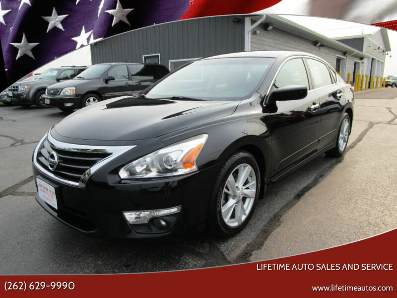 2015 Nissan Altima for sale at Lifetime Auto Sales and Service in West Bend WI