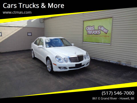 2007 Mercedes-Benz E-Class for sale at Cars Trucks & More in Howell MI