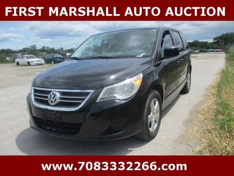 2010 Volkswagen Routan for sale at First Marshall Auto Auction in Harvey IL