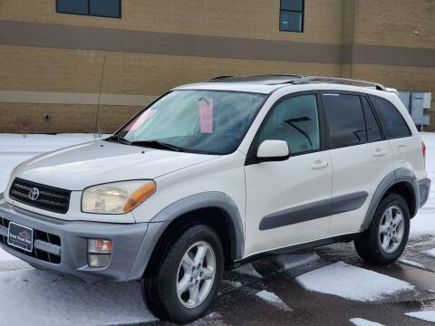 2001 Toyota RAV4 for sale at FRESH TREAD AUTO LLC in Springville UT