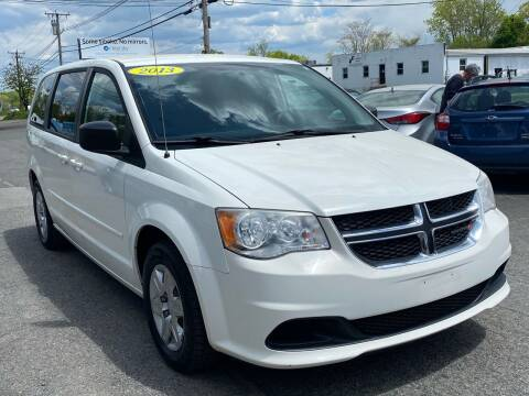 2013 Dodge Grand Caravan for sale at MetroWest Auto Sales in Worcester MA