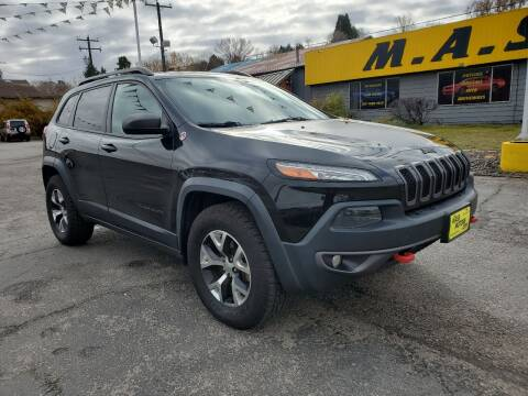 2015 Jeep Cherokee for sale at M.A.S.S. Motors Chinden in Garden City ID