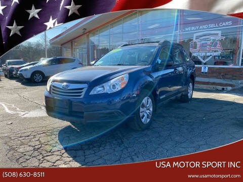 2011 Subaru Outback for sale at USA Motor Sport inc in Marlborough MA