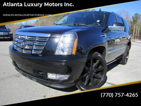 2010 Cadillac Escalade for sale at Atlanta Luxury Motors Inc. in Buford GA