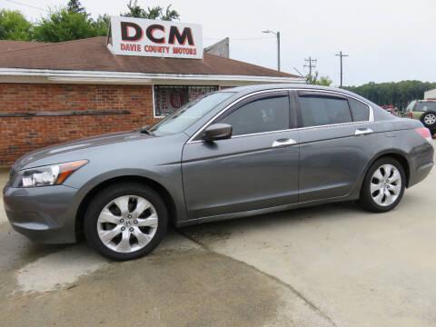2008 Honda Accord for sale at Davie County Motors in Mocksville NC