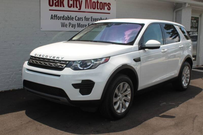 2017 Land Rover Discovery Sport for sale at Oak City Motors in Garner NC