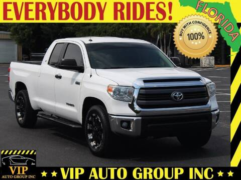 2015 Toyota Tundra for sale at VIP Auto Group in Clearwater FL