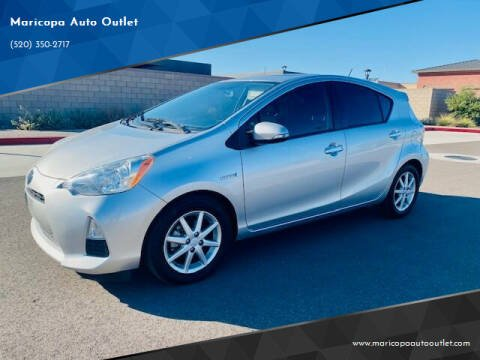 2012 Toyota Prius c for sale at Maricopa Auto Outlet in Maricopa AZ