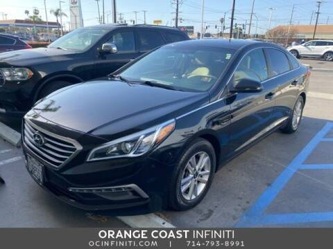2015 Hyundai Sonata for sale at ORANGE COAST CARS in Westminster CA