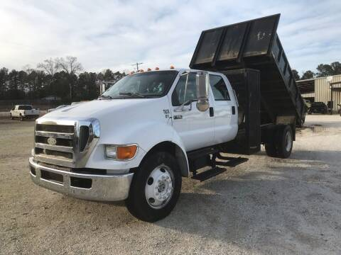 2007 Ford F-650 for sale at Ramsey Truck Sales LLC in Benton AR