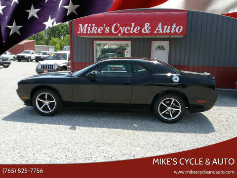 2011 Dodge Challenger for sale at MIKE'S CYCLE & AUTO in Connersville IN