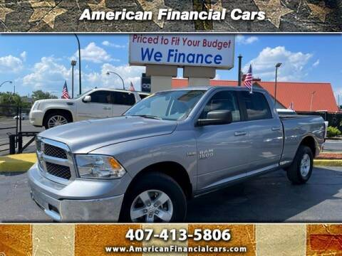 2020 RAM Ram Pickup 1500 Classic for sale at American Financial Cars in Orlando FL