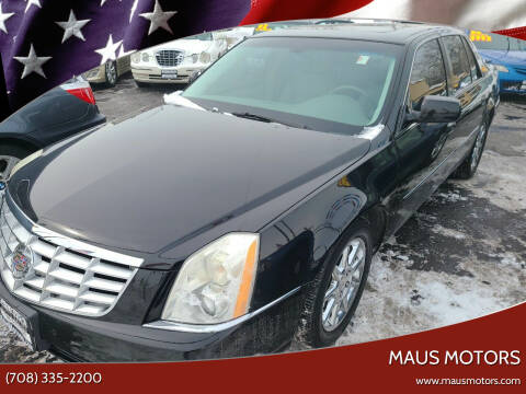 2010 Cadillac DTS for sale at MAUS MOTORS in Hazel Crest IL
