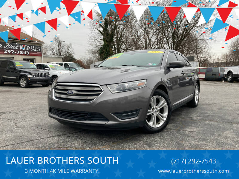 2014 Ford Taurus for sale at LAUER BROTHERS SOUTH in York PA