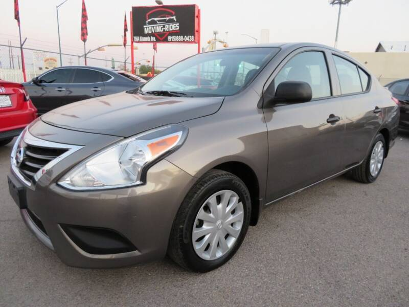 2015 Nissan Versa for sale at Moving Rides in El Paso TX