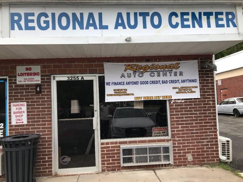 1998 Mazda 626 for sale at REGIONAL AUTO CENTER in Stafford VA