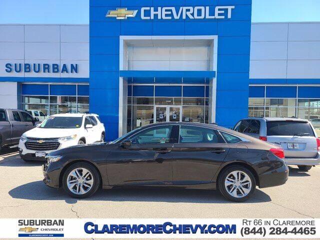 2018 Honda Accord for sale at Suburban Chevrolet in Claremore OK