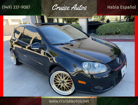2009 Volkswagen GTI for sale at Cruise Autos in Corona CA