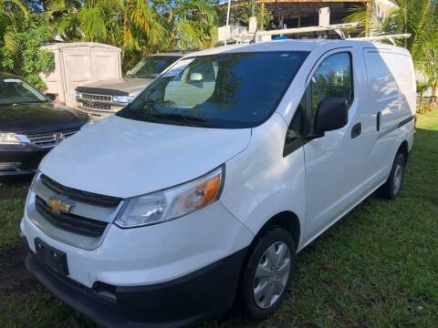 2015 Chevrolet City Express Cargo for sale at Global Motors in Hialeah FL