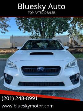 2015 Subaru WRX for sale at Bluesky Auto in Bound Brook NJ