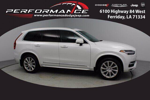 2017 Volvo XC90 for sale at Auto Group South - Performance Dodge Chrysler Jeep in Ferriday LA
