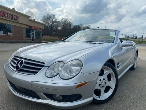 2005 Mercedes-Benz SL-Class for sale at Gwinnett Luxury Motors in Buford GA