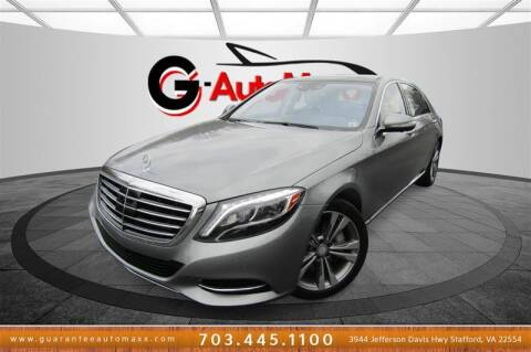 2015 Mercedes-Benz S-Class for sale at Guarantee Automaxx in Stafford VA