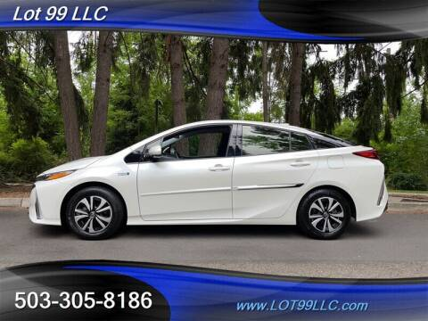 2018 Toyota Prius Prime for sale at LOT 99 LLC in Milwaukie OR