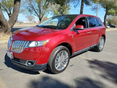 2013 Lincoln MKX for sale at Matador Motors in Sacramento CA