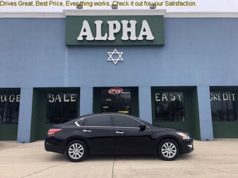 2015 Nissan Altima for sale at ALPHA AUTOMOBILE SALES, LLC in Lafayette LA
