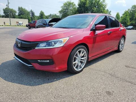 2017 Honda Accord for sale at Cruisin' Auto Sales in Madison IN