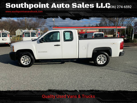 2011 Chevrolet Silverado 1500 for sale at Southpoint Auto Sales LLC in Greensboro NC
