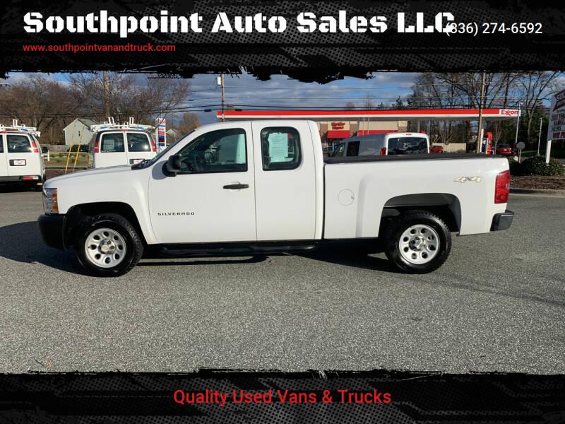 2011 Chevrolet Silverado 1500 for sale at Southpoint Auto Sales LLC in Greensboro NC