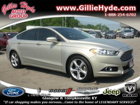 2016 Ford Fusion for sale at Gillie Hyde Auto Group in Glasgow KY