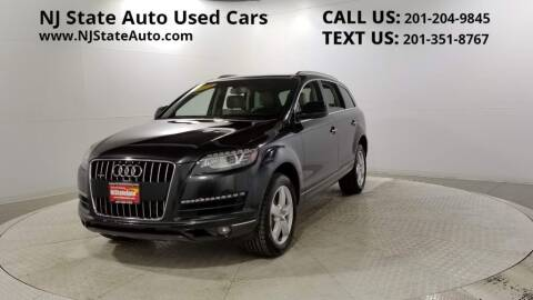 2014 Audi Q7 for sale at NJ State Auto Auction in Jersey City NJ