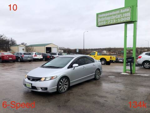 2010 Honda Civic for sale at Independent Auto in Belle Fourche SD