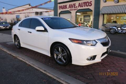 2013 Acura TSX for sale at PARK AVENUE AUTOS in Collingswood NJ