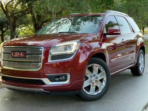 2016 GMC Acadia for sale at HIGH PERFORMANCE MOTORS in Hollywood FL