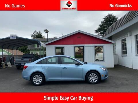 2011 Chevrolet Cruze for sale at Cars To Go in Portland OR