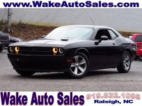2015 Dodge Challenger for sale at Wake Auto Sales Inc in Raleigh NC