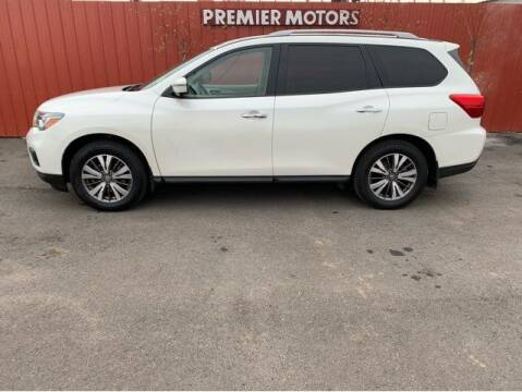 2017 Nissan Pathfinder for sale at PremierMotors INC. in Milton Freewater OR