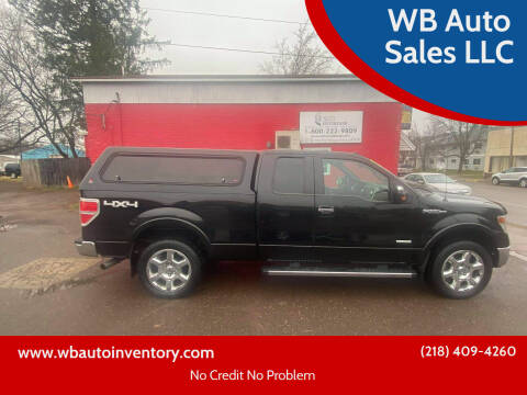 2013 Ford F-150 for sale at WB Auto Sales LLC in Barnum MN