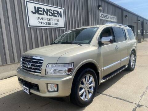 2009 Infiniti QX56 for sale at Jensen's Dealerships in Sioux City IA