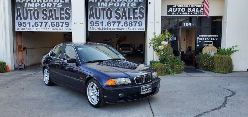2001 BMW 3 Series for sale at Affordable Imports Auto Sales in Murrieta CA