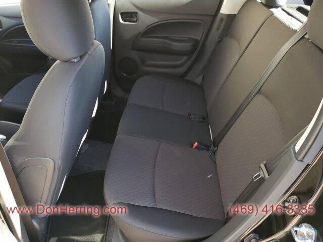 2020 Mitsubishi Mirage ES 4dr Hatchback CVT - Plano TX