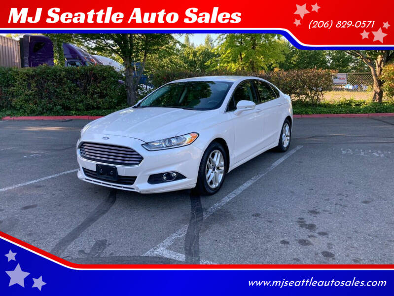 2015 Ford Fusion for sale at MJ Seattle Auto Sales in Kent WA