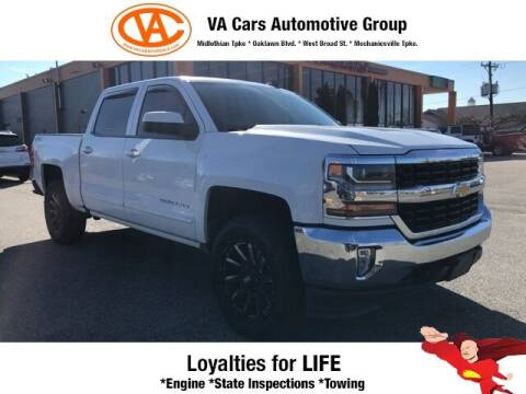 2017 Chevrolet Silverado 1500 for sale at VA Cars Inc in Richmond VA