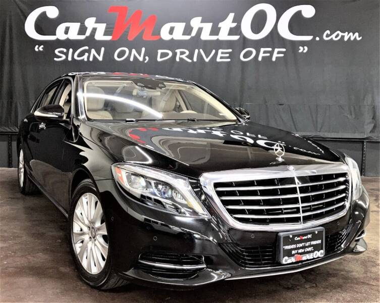 2015 Mercedes-Benz S-Class for sale at CarMart OC in Costa Mesa CA