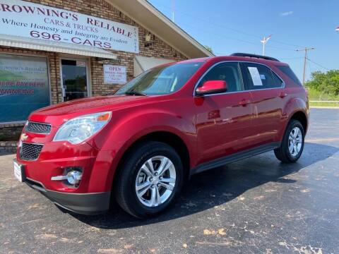 2013 Chevrolet Equinox for sale at Browning's Reliable Cars & Trucks in Wichita Falls TX