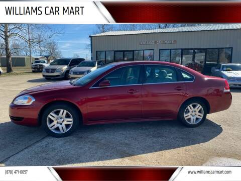 2014 Chevrolet Impala Limited for sale at WILLIAMS CAR MART in Gassville AR